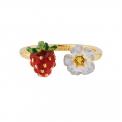 Small strawberry and white...