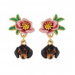 Earrings With Dachshund's...