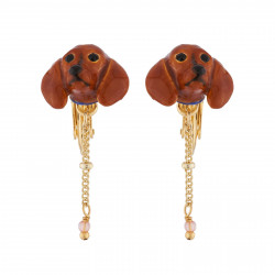 Clip On Earrings With Small...