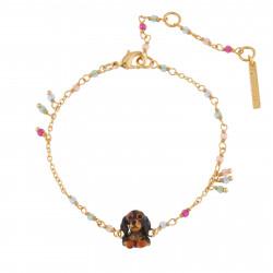 Bracelets Fins Bracelet Petit Teckel Et Pampilles80,00€ AILA202/1Les Néréides