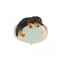 Ring With Small Dachshund...