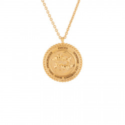 Colliers Pendentifs Collier pendentif signe astrologique poisson95,00€ AJCS312/1Les Néréides