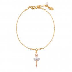 White Mini Ballerina chain...