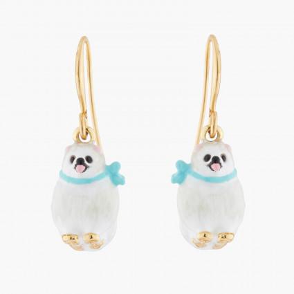Boucles D'oreilles Pendantes Boucles D'oreilles Hook Poméranien Blanc120,00€ AKLA103H/1Les Néréides