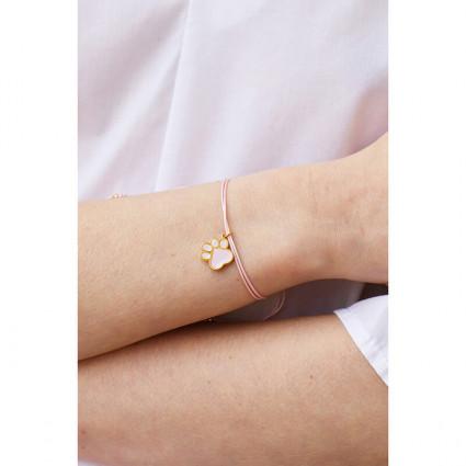 Bracelet 5 pierres et symbole de la terre
