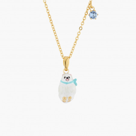 Bracelet chanceux pierre bleue et main de Fatma