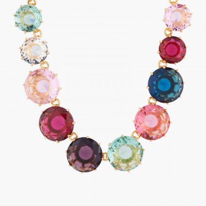 Colliers Sautoirs Collier sautoir pierres rondes la diamantine multicolore350,00€ AKLD351/1Les Néréides