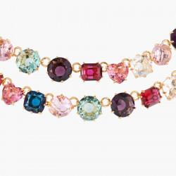 Colliers Plastrons Collier Deux Rangs Luxe La Diamantine Multicolore590,00€ AKLD355/1Les Néréides