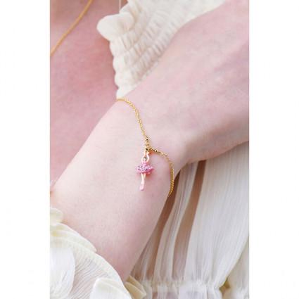 Boucles d'oreilles fruit rouge chimérique et fermoir amovible perlé
