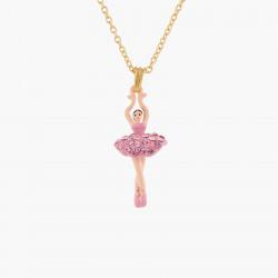 Colliers Pendentifs Collier Pendentif Mini Ballerine En Tutu Cristaux Roses70,00€ AKMDD301/10Les Néréides