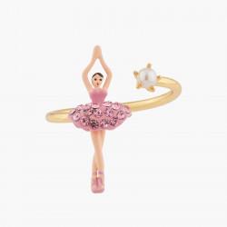 Bagues Ajustables Bague Ajustable Mini Ballerine En Tutu Cristaux Roses60,00€ AKMDD601/10Les Néréides