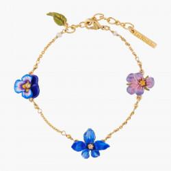 Bracelets Fins Bracelet Fin Violette Et Pensée110,00€ AKMP203/1Les Néréides
