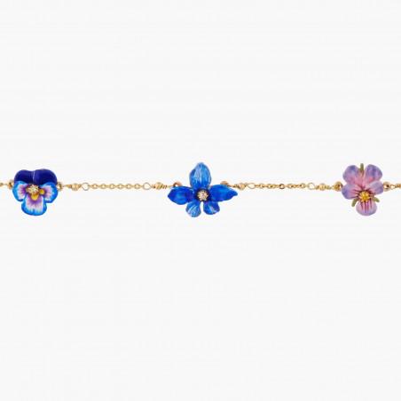 Bracelet mini ballerine en tutu noir