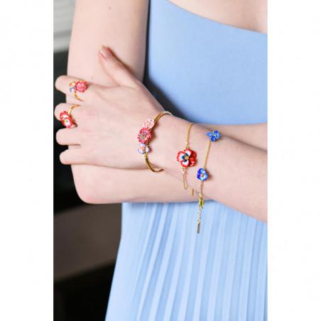 Mini ballerina with a red tutu bracelet