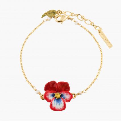 Bracelet mini ballerine en tutu argenté