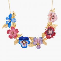 Collar Pechera Flores De...