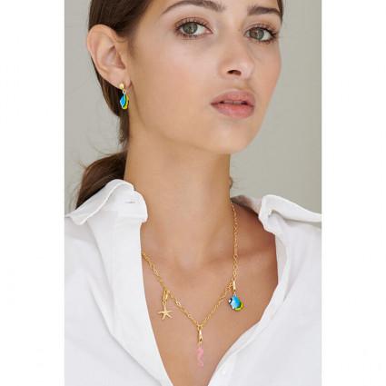 Silvered toe-dancing ballerina clip earrings