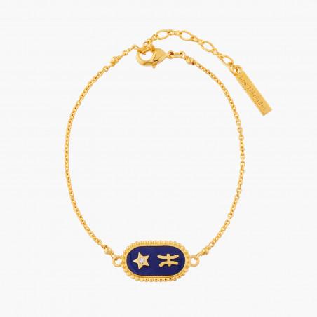Anemones, starfish and charms bracelet