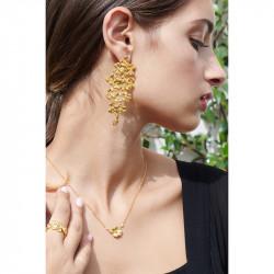 Colliers Pendentifs Collier pendentif trèfle et cristal90,00€ ALFC301/1Les Néréides
