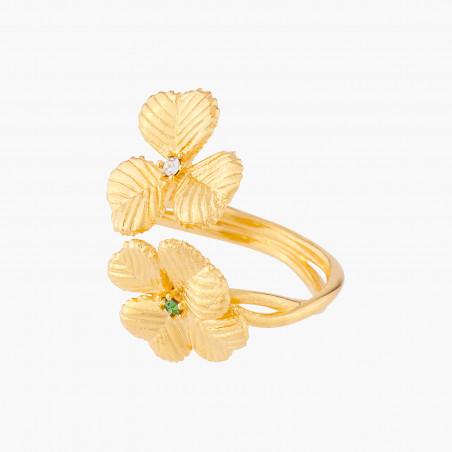 Bouquet of a chimerical garden bangle