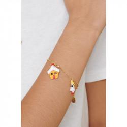 Bracelets Originaux Bracelet Charm's Épopée Gourmande Hansel Et Gretel65,00€ ALHG201/1N2 by Les Néréides