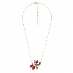Colliers Pendentifs Colliers Fraises, Fleurs Blanches Et Branche En Feuilles130,00€ AHPO301/1Les Néréides
