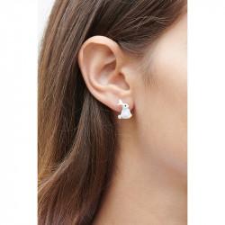 Boucles D'oreilles Dormeuses Boucles d'oreilles dormeuses lapin et perle80,00€ ALRE101D/1Les Néréides