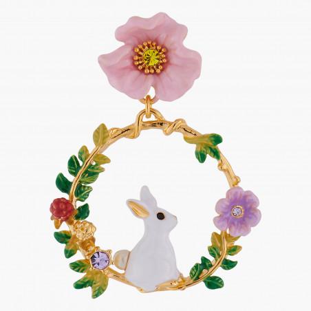 La Diamantine necklace 9 faceted glass