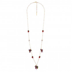 Long Necklace With Grapes,...