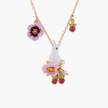 Colliers Pendentifs Collier pendentif lapin et fleurs120,00€ ALRE303/1Les Néréides