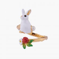 Bagues Ajustables Bague Ajustable Lapin Et Fleur Blanche80,00€ ALRE602/1Les Néréides