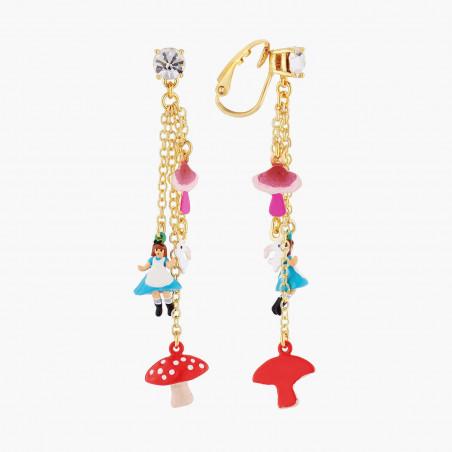Bracelet semi-perlé couple d'inséparables et piments