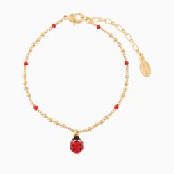 Ladybug Charms Bracelet