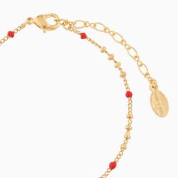 Bracelets Fins Bracelet Pendentif Coccinelle55,00€ AMSO203/1Les Néréides