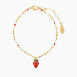 Strawberry Charms Bracelet