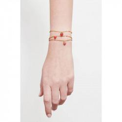 Bracelets Fins Bracelet pendentif fraise55,00€ AMSO205/1Les Néréides