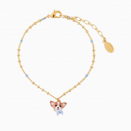 Bracelets Fins Bracelet Pendentif Chihuahua Papillon55,00€ AMSO206/1Les Néréides