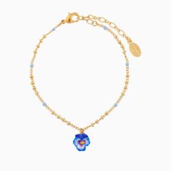 Pansy Charms Bracelet