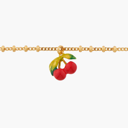 Boucles d'oreilles fleur rose, papillon et chaînes