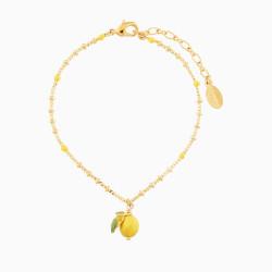 Lemon Charms Bracelet