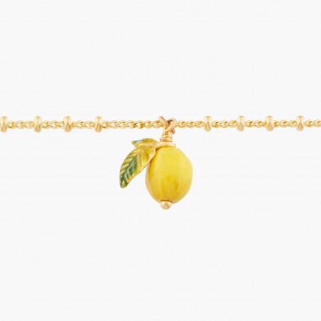 Boucles d'oreilles clip verres taillés, petite coccinelle et fraise