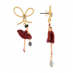 Boucles D'oreilles Pendantes Boucles D'oreille Ballerines Sur Pointe Rouge90,00€ RDD108T/5Les Néréides