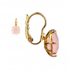 Bracelet jonc chanceux pierre et couronne