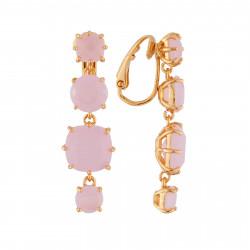Boucles D'oreilles Clip Boucles D'oreilles Clip 4 Pierres La Diamantine Rose80,00€ ULD120C/2Les Néréides