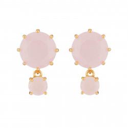 Boucles D'oreilles Tiges Boucles D'oreilles Tiges 2 Pierres Rondes La Diamantine Rose60,00€ ULD126T/2Les Néréides