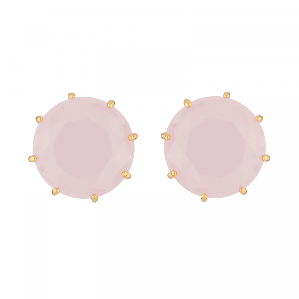 Boucles D'oreilles Tiges Boucles D'oreilles Tiges Pierre Ronde La Diamantine Rose60,00€ ULD140T/2Les Néréides