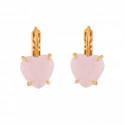 Boucles D'oreilles Dormeuses Boucles D'oreilles Dormeuses Pierre Cœur La Diamantine Rose50,00€ ULD145D/2Les Néréides