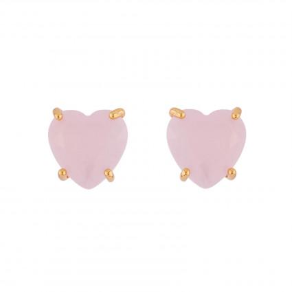 Boucles D'oreilles Tiges Boucles D'oreilles Tiges Pierre Cœur La Diamantine Rose50,00€ ULD145T/2Les Néréides