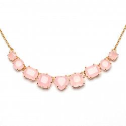 Colliers Fins Collier Fin 9 Pierres La Diamantine Rose120,00€ ULD318/2Les Néréides