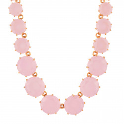 Pink Round Stones And Chain...